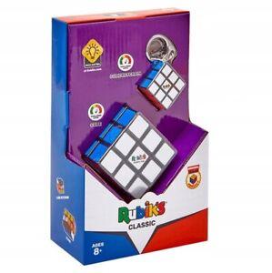 Original Rubik's Cube Zauberwürfel 3x3x3 RUB3032 +Anhänger NEU OVP