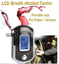 Wholesale Portable Police Digital Breath LCD Alcohol Tester Breathalyzer AT-6000