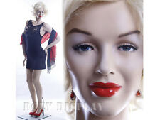Sexy Female Fiberglass Mannequin Marilyn Monroe Style Dress Form Mz Monroe2