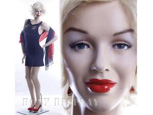 Sexy Female Fiberglass Mannequin Marilyn Monroe Style Dress Form #MZ-MONROE2