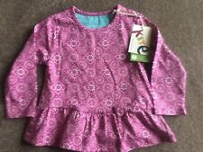 BRAND NEW Baby Girl Kite organic long slevee top size 6 - 12 months