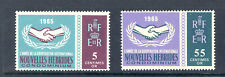 FRENCH NEW HEBRIDES SG 128-9 ICY SET MNH