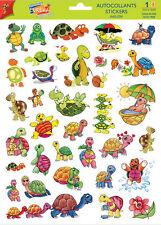 A4 Sticker Sheet Comical Turtles/Tortoises- Scrapbooking & Cardmaking 30 image