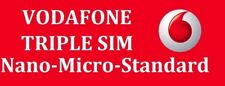 Vodafone Pay as You Go SIM Card Official 4g Nano Micro SIM 3 in 1