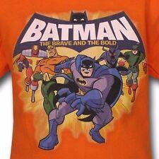 Batman Enfants Brave & Bold Groupe T-Shirt - 7 ans grand