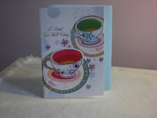 For Arts Sake - Get Well - two cups and saucers are on the cover