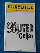 Buyer & Cellar - Barrow Street Theatre Playbill - May 2014 - Christopher J Hanke