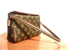 Authentic Louis Vuitton Small LV Vintage Brown Monogram Recital Shoulder Bag