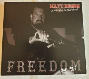"MATT DEMON CD "" FREEDOM """