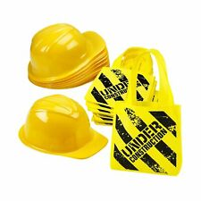 Construction Birthday Party Supplies - (24 Pack) Construction Party Hat & Min...