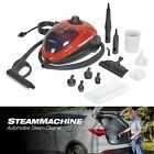 Car Steam Cleaner Machine 11 Accessories Detailing Cleaning Compact Portable photo