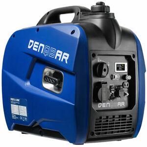 DENQBAR Inverter Stromerzeuger 2,1 kW Digitaler Generator 4Takt Display DQ-2100