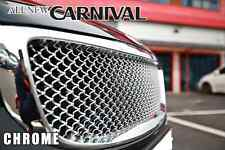 For KIA 2014 2015 2016 Sedona Bentley Style Chrome Luxury Front Bonnet Grille
