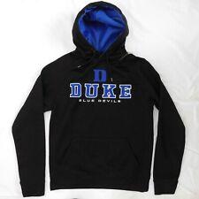 Men's S Colosseum Duke Blue Devils Hoodie Sweatshirt - Black