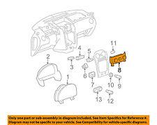Chevrolet GM OEM HHR-Dash Climate Control Unit HVAC Heater A/C Fan 22745746