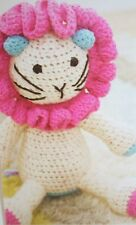 Lion Toy CROCHET PATTERN (JNT007)