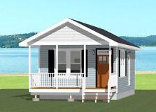 16x30 House -- 1 Bedroom  -- PDF Floor Plan -- 480 sq ft -- Model 4B