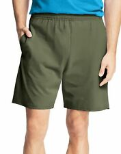 Hanes Mens Jersey Cotton Shorts