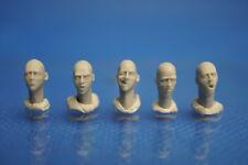 Resin Kit 329 1/35 Bare Head Set