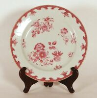Qianlong Antique Chinese 18th c. Porcelain Famille Rose Plate