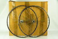 AMBROSIO ELITE CAMPAGNOLO CHORUS 700c wheels set vintage 80s 90s clincher