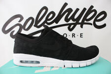 NIKE SB ZOOM STEFAN JANOSKI MAX BLACK WHITE SKATE SHOES 631303 022 SZ 10
