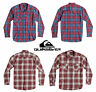 Quiksilver Men's Everday Flannel Checked Regular Fit Classic Collar Shirt