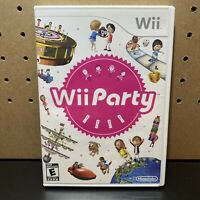 Wii Party Game (Nintendo Wii, 2010) - Complete CIB w/ Manual & Tested!