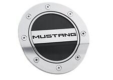 """Fuel Door(EA)-Silver/Black """"MUSTANG""""- 2015+ Mustang."""