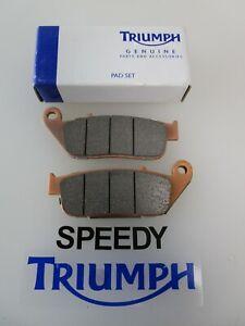 TRIUMPH T120 THRUXTON 1200 RH SIDE FRONT BRAKE PADS T2027545
