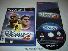 Jeu Playstation 2 - Pro Evolution Soccer 4 - PS2