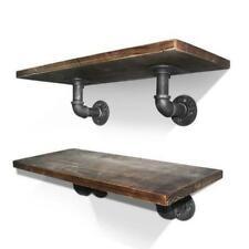 Artiss PIPE-DIY-L6-X8 6 inch Wall Mounted Shelf Set - 9 Piece