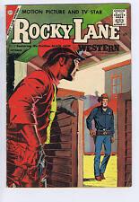 Rocky Lane Western #81 Charlton Pub.  1958