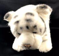 Nat & Jules Demdaco White Tiger Animal Craft Plush Cat Stuffed Animal Zoo