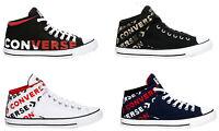New CONVERSE Chuck Taylor Street Athletic Sneaker hi top Mens multicolor all z