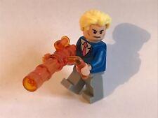 LEGO ORIGINAL parts - JAMES BOND + CUSTOM CANNON translucent orange v2