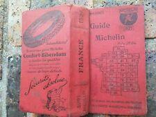 GUIDE MICHELIN ROUGE FRANCE 1927 COMPLET EN BON ETAT D'USAGE 94 ANS D'AGE!