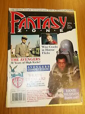 FANTASY ZONE #4 BRITISH MONTHLY JANUARY 1990 THE AVENGERS GHOSTBUSTERS (A)^