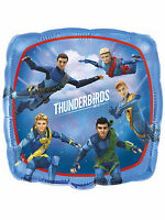 "Thunderbirds Are Go Party Decoration 18"" Square Non Message Foil Balloon"