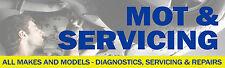 6 PIEDI x 2ft MOT & Manutenzione Banner strumenti di diagnostica FORD RENAULT BMW AUDI CASTROL