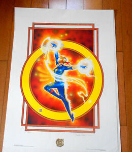 DAZZLER Print by  SIGNED FRANK CIROCCO  1987 in Original Folder