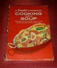 Vintage Campbell Cookbook Cooking with Soup 1968 Spiral Hardcover 608 Recipes