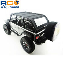 Hot Racing Axial SCX10 Jeep 4dr Black Soft Roof Top SCX14JST03