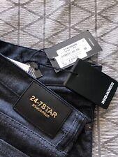 "BNWT DSQUARED 2 24/7 Star Slim Dark Denim Jeans 34"" £285"