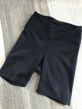 Year Of Ours Ribbed bike Exercise shorts Black Xs New No Tags