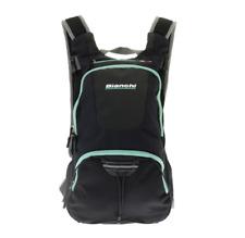 Bianchi Cycling Smart Backpack Black x Celeste w/Rain cover /rucksack JP183S3102