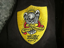 Ed Hardy by Christan Audigier Jacke Adler Eagle Patches Aufnäher Gestickt Gr.L