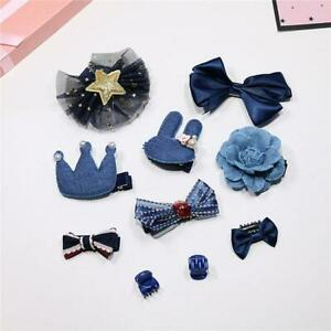 Lovely Jewelry Sets Star Hairpin Accessories 10PCS Children Hair Accessories 6N