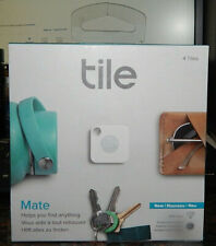 Tile Mate Tracker 4-pack  (White/Gray)