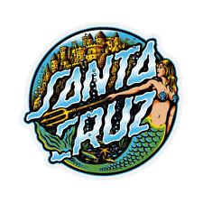 Santa Cruz Marmeid Dot Skateboard Sticker 3.2in
